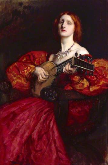 A Lute Player, 1899